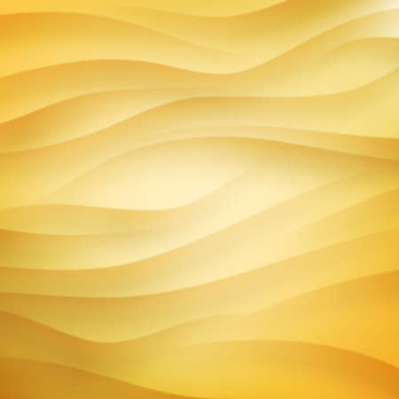 夏の砂漠、ビーチ、砂の背景のテンプレート。  イラスト・ベクター素材
