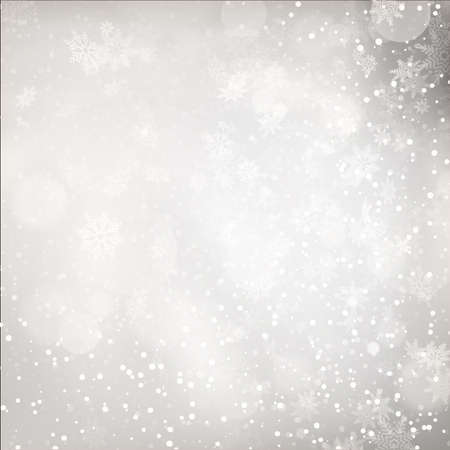 luces navidad: Christmas Lights on grey background. EPS 10 vector file included