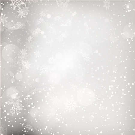blizzards: Christmas Lights on grey background. EPS 10 vector file included