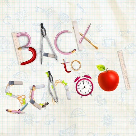 Back to School. EPS 10 vector file included