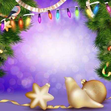 moños de navidad: Christmas balls with ribbon and bows.