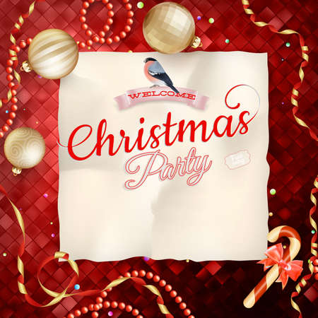 holiday party background: Christmas Abstract colorful background. EPS 10 vector file included