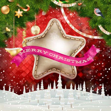 navidad navidad: Christmas Abstract Background Landscape. EPS 10 vector file included Illustration