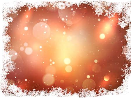 diciembre: Fondo abstracto de la Navidad.