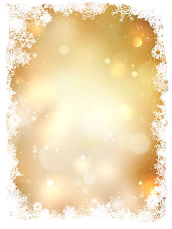 bright borders: Abstract christmas background.