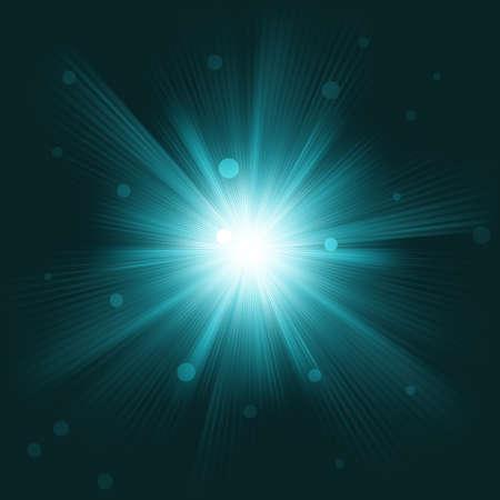 radiate: Lens flare burst background. EPS 8 vector file included
