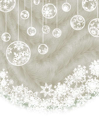 cristmas card: Elegant new year and cristmas card template. EPS 8 vector file included