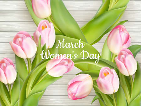 women s day: Happy Women s Day. Background for Women s Day.  vector file included