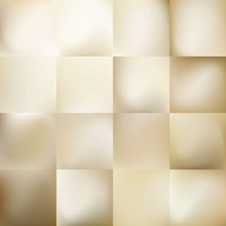 Set of Light gold gradient Mesh abstract background.  イラスト・ベクター素材
