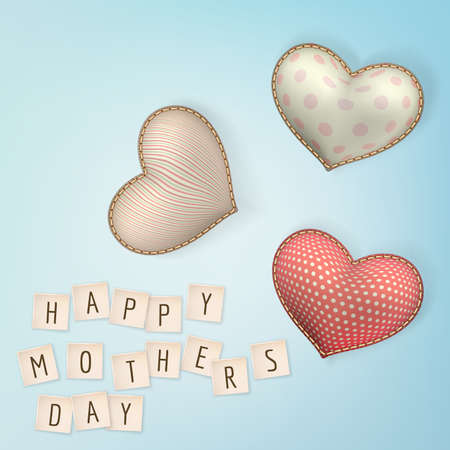 bue: Happy mothers day. EPS 10 vector file included