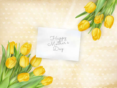 beautifully: Beautifully Textured Card with Tulips.