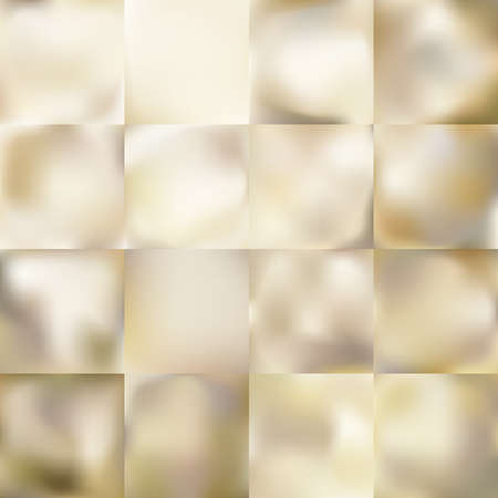 tone shading: Set of Light gold gradient Mesh abstract background. EPS 10 vector file included