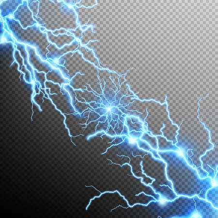 storm background: Abstract lightning storm background. EPS 10 vector file included