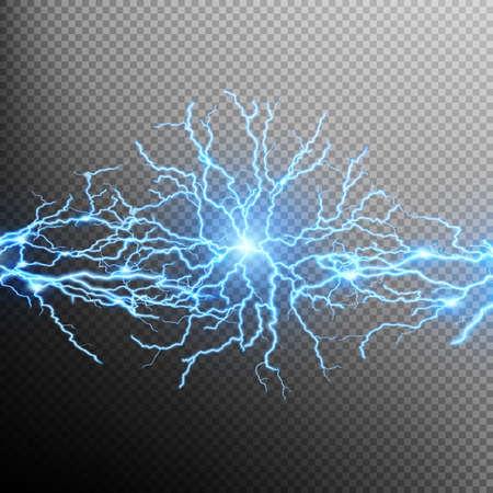 Scarica di elettricità. File EPS 10 vettore incluso Archivio Fotografico - 56473695