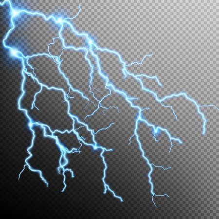 electric storm: Electric Storm - lightning bolt. Illustration