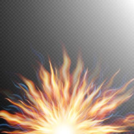 big bang: Explosion, big bang, fire burst. EPS 10 vector file included