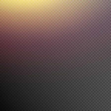 Reflected light effect on transparent background.  イラスト・ベクター素材