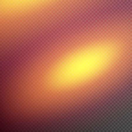 spot clean: Reflected light effect on transparent background. Illustration