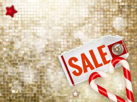 christmas sale: Christmas Poster Sale. Typography.