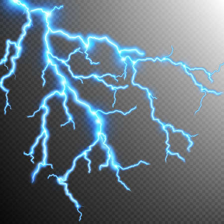 storm background: Abstract lightning storm background. Illustration