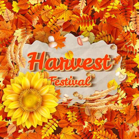 harvest festival: Harvest Festival Poster.
