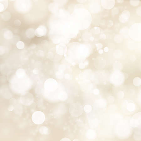 descending: Soft golden abstract Christmas lights. Illustration