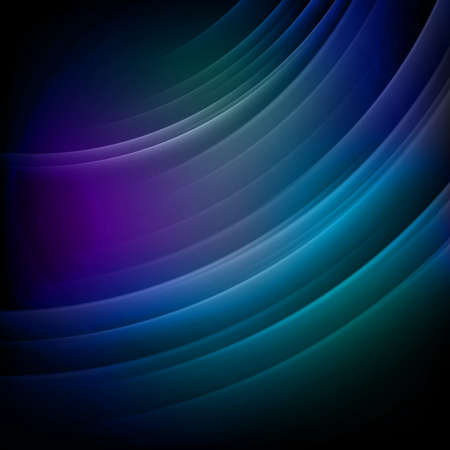 electromagnetic field: Abstract blurry blue background. EPS 10 vector file included Illustration