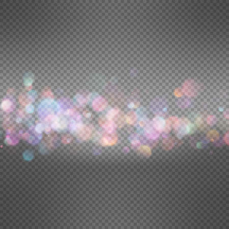 transparence: Soft bokeh and lights template. EPS 10 vector file included