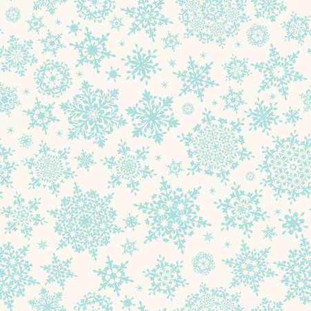 Seamless winter retro pattern. EPS 10 vector file included Ilustração