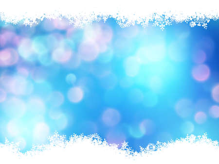 Abstract bokeh background. Festive defocused lights. EPS 10 vector file included