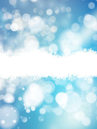 Abstract bokeh background. Festive defocused lights. EPS 10 vector file included Illustration