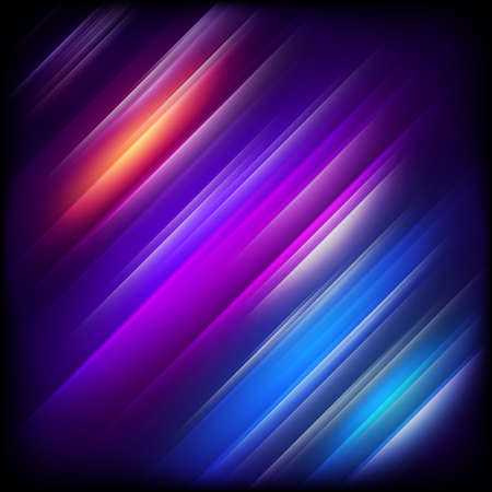 Abstract background with colorful shining. EPS 10 vector file included Stock Illustratie
