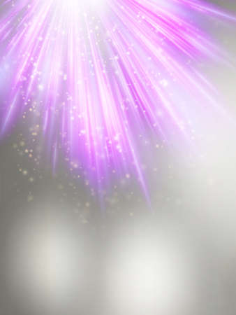 copy spase: Abstract magic violet light background.