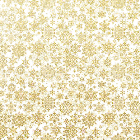 disorderly: Christmas tree decoration stars isolated on white background. EPS 10 vector file included Illustration