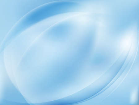 Abstract blue background with smooth lines. EPS 10 vector file included