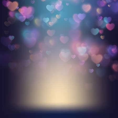バレンタインの s 日の背景。EPS 10