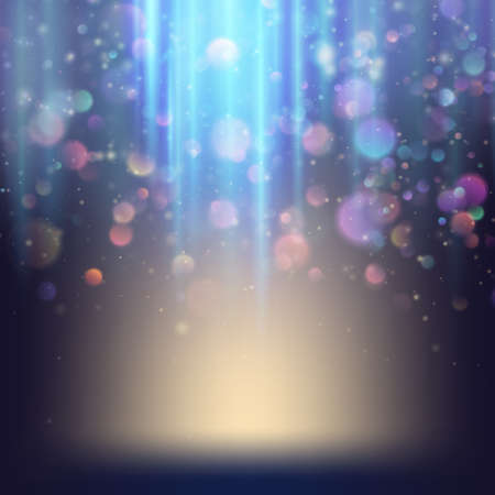 bright lights: Background with bright magic lights. EPS 10 Illustration