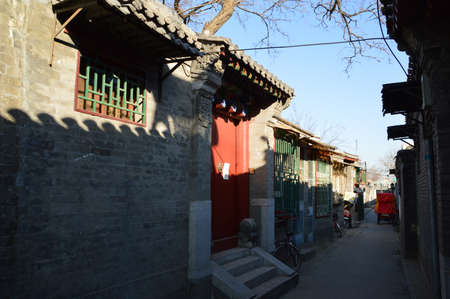 architectural architectonic: Beijing old town Jingsitao Protection Zone