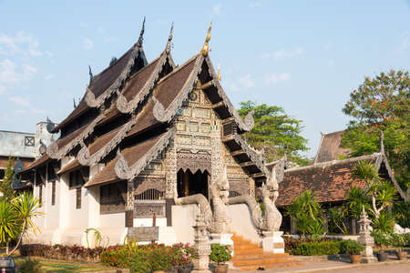 chang: Chiang Mai, Thailand. - Feb 22 2015: Wat Chang Taem. a famous Temple in Chiang Mai, Thailand.