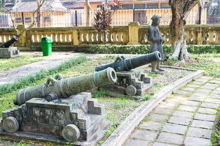 royal: Hue, Vietnam - Jan 22 2015: Hue Museum of Royal Fine Arts. a famous Historical site in Hue, Vietnam.
