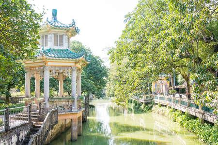 GUNAGDONG, CHINA - Dec 17 2015: Li Garden(Liyuan). A Famous Historic ...