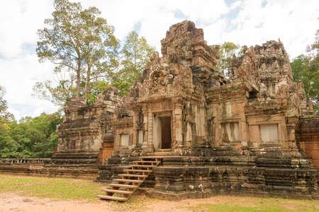 Siem Reap, Cambodia - Nov 30 2016: Chau Say Tevoda in Angkor. a famous Historical site(UNESCO World Heritage) in Angkor, Siem Reap, Cambodia.