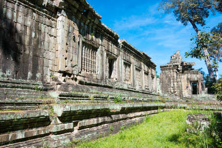 Siem Reap, Cambodia - Dec 08 2016: Khleang in Angkor Thom. a famous Historical site(UNESCO World Heritage) in Angkor, Siem Reap, Cambodia.