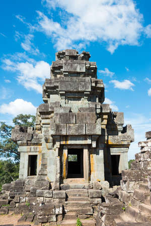 Siem Reap, Cambodia - Nov 30 2016: Ta Keo Temple in Angkor. Editorial