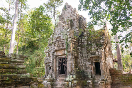 Siem Reap, Cambodia - Dec 10 2016: Preah Palilay in Angkor Thom. a famous Historical site(UNESCO World Heritage) in Angkor, Siem Reap, Cambodia.
