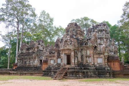 Siem Reap, Cambodia - Nov 30 2016: Chau Say Tevoda in Angkor. Editorial