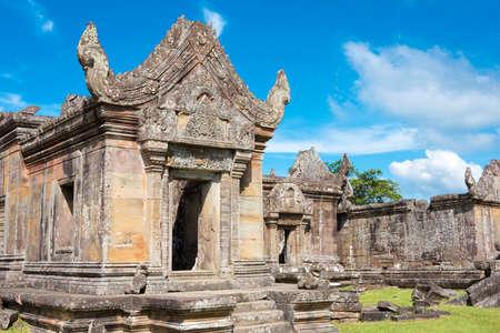 Preah Vihear, Cambodia - Dec 03 2016: Preah Vihear Temple. a famous Historical site(UNESCO World Heritage) in Preah Vihear, Cambodia. Stock Photo