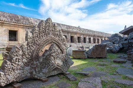 Preah Vihear, Cambodia - Dec 03 2016: Preah Vihear Temple.