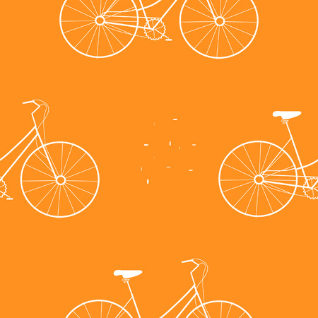 bike bicycle seamless pattern vector