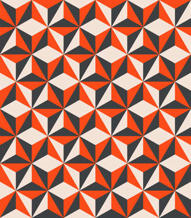 Geometric shapes abstract colorful seamless pattern